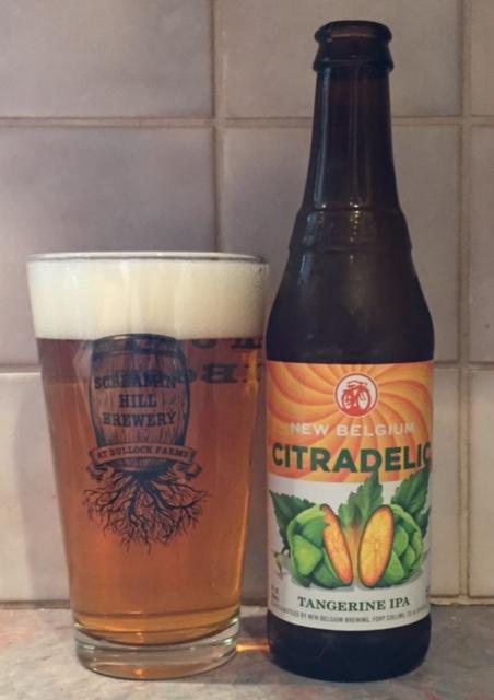 New Belgium Citradelic Beerproof Beer Cider And Mead Reviews