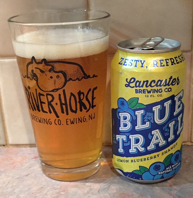 6dacf28c05aa Lancaster Brewing Company Blue Trail Lemonade Blueberry Shandy – Beerproof  – Beer